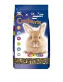 Alimento conejos mix 900 gr. novopet